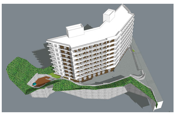 Çok katlı konut binası 2014